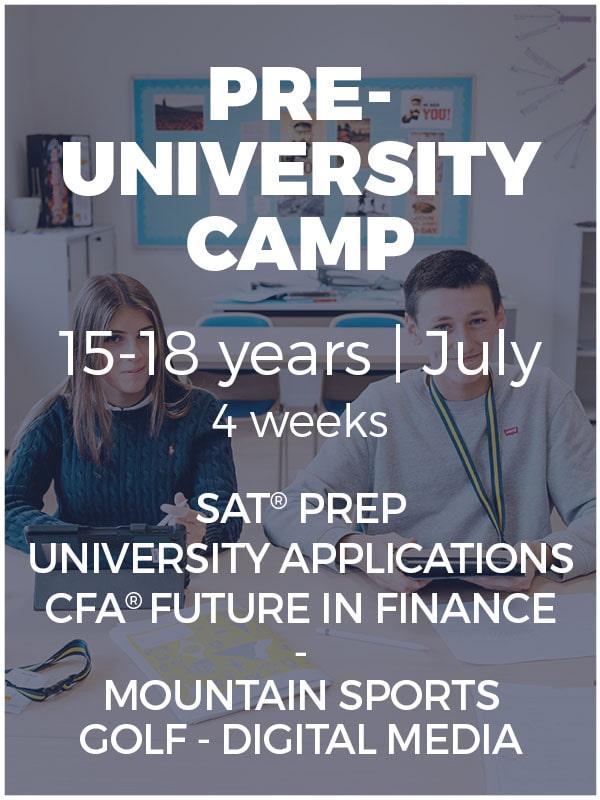 Régent Camps Pre-University Camp