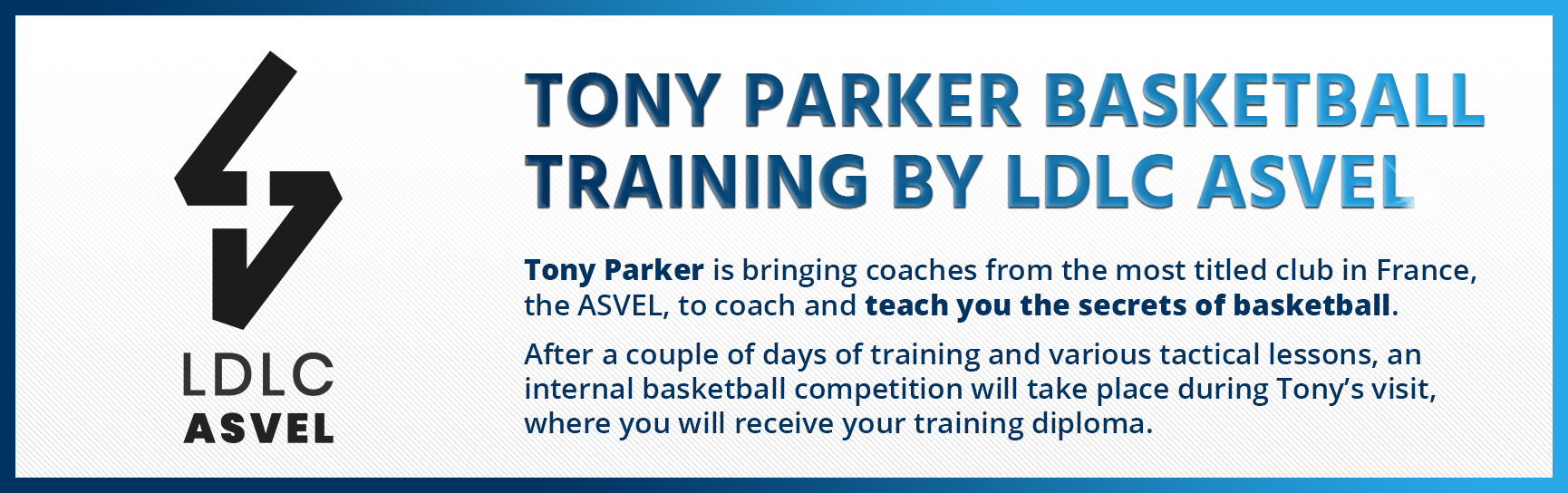 Tony Parker Basketball Training by LDLC Asvel