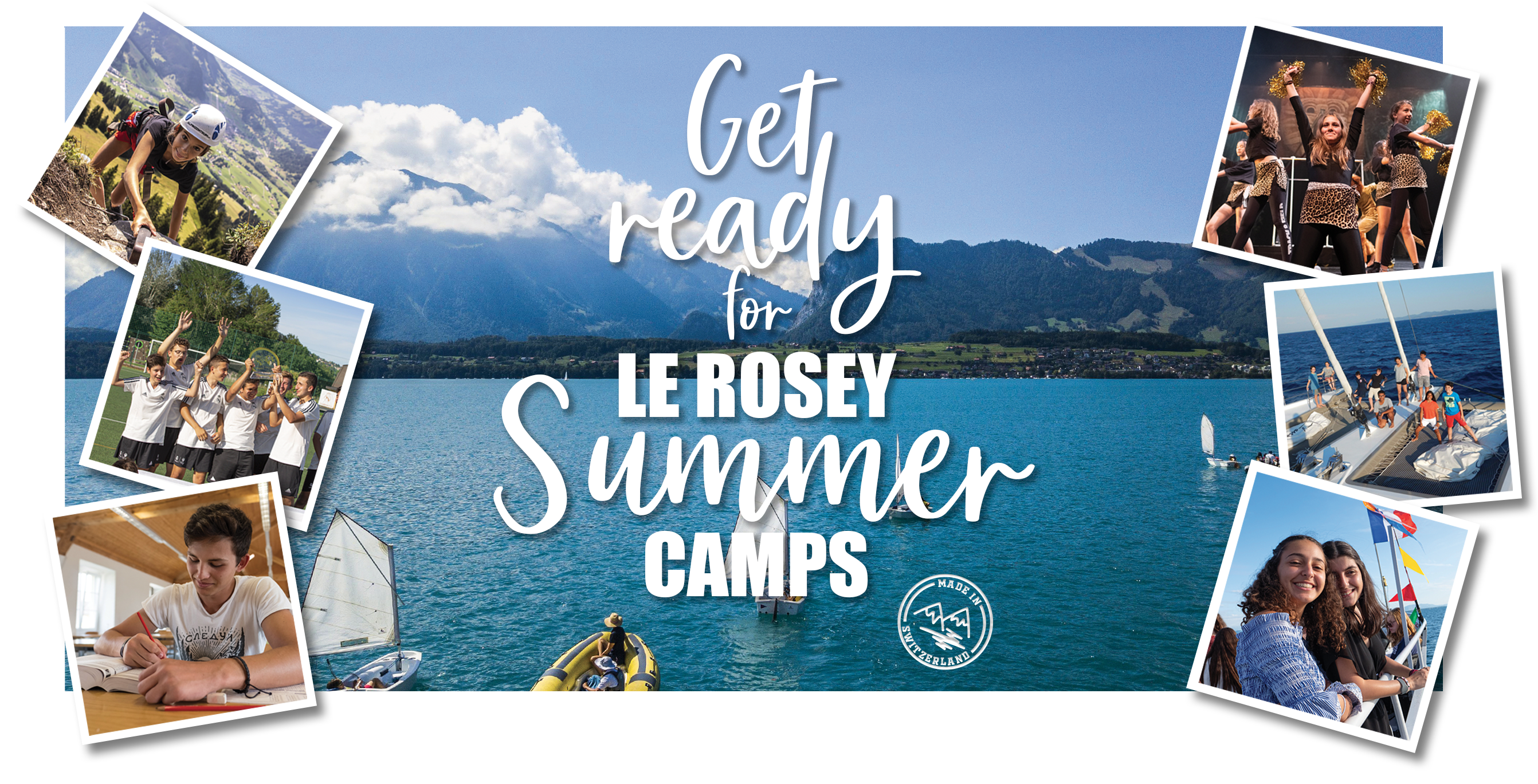Get ready for Le Rosey Summer Camps